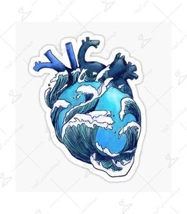 استیکر LooLoo طرح عاشق دریا