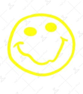 استیکر LooLoo طرح Nirvana سفید زرد