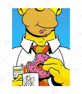 استیکر LooLoo طرح سیمپسون