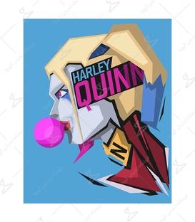 استیکر LooLoo طرح Harley Quinn