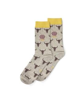 جوراب ساقدار نانو پاتریس طرح کابوی