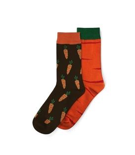 جوراب لنگه به لنگه ساق دار نانو پاتریس طرح هویج