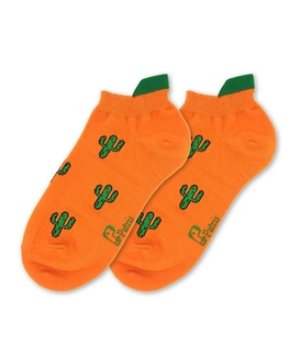جوراب مچی نانو پاتریس طرح کاکتوس نارنجی