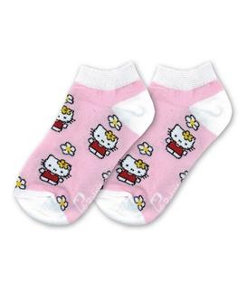 جوراب بچگانه نانو پاتریس طرح هلو کیتی (۳ تا ۶ سال)