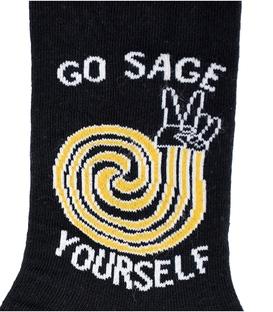جوراب ساق دار Chetic طرح Go Sage Yourself