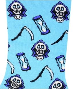جوراب ساق دار Chetic طرح اسکلت مرگ