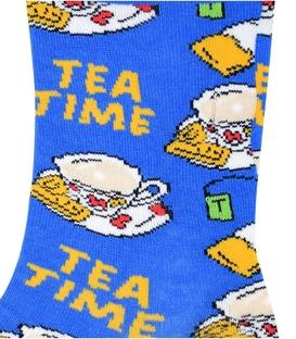 جوراب ساق دار Chetic طرح چای