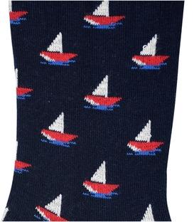 جوراب ساق دار Chetic طرح قایق