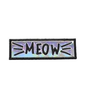 پچ حرارتی هولوگرامی طرح Meow