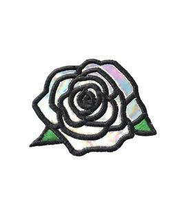 پچ حرارتی هولوگرامی طرح Rose