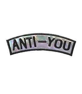 پچ حرارتی هولوگرامی طرح Anti You