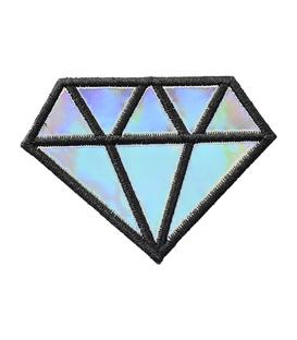 پچ حرارتی هولوگرامی طرح الماس