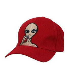 کلاه کپ طرح Alien قرمز