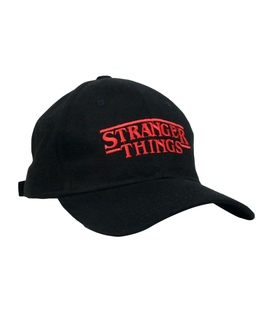 کلاه کپ طرح Stranger Things مشکی