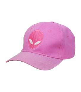 کلاه کپ طرح Alien صورتی