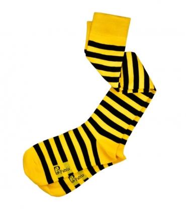 جوراب زیر زانو نانو پاتریس طرح زنبوری