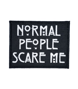 پچ حرارتی طرح Normal People Scare ME