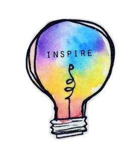 استیکر LooLoo طرح Inspire