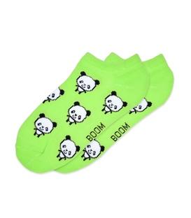 جوراب مچی بوم طرح پاندا سبز