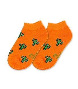 جوراب بچگانه نانو پاتریس طرح کاکتوس نارنجی (۳ تا ۶ سال)