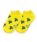 جوراب بچگانه نانو پاتریس طرح کاکتوس زرد (۳ تا ۶ سال)