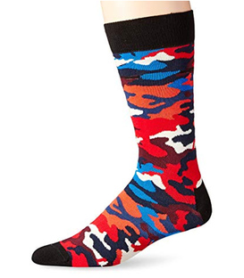 جوراب Happy Socks هپی ساکس طرح Camo Bark