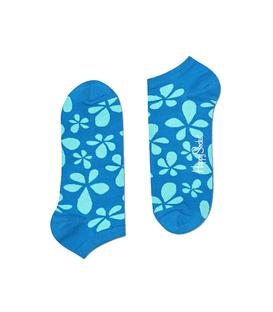 جوراب Happy Socks هپی ساکس طرح Flower سبزآبی